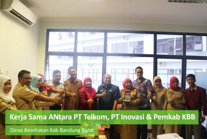Cooperation between PT.Telkom, PT. Innovation and KBB District Government