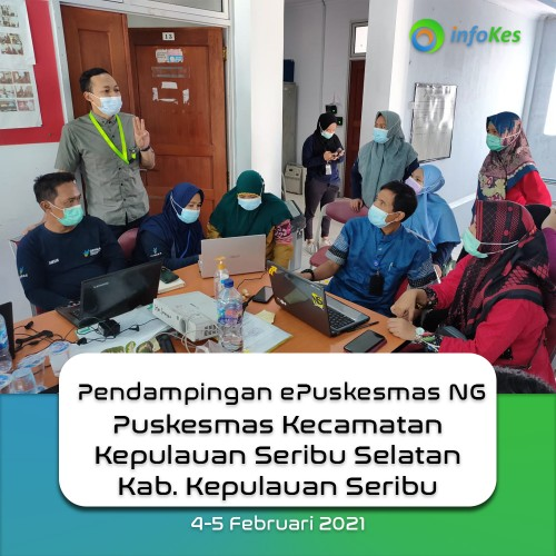 Assistance of ePuskesmas at the South Thousand Islands District Health Center